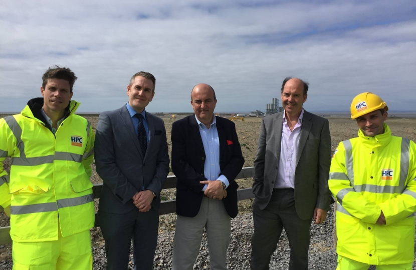Hinkley point inspection